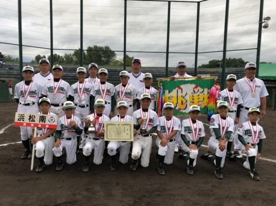 JA共済杯2018全国選抜リトルリーグ野球大会 準優勝